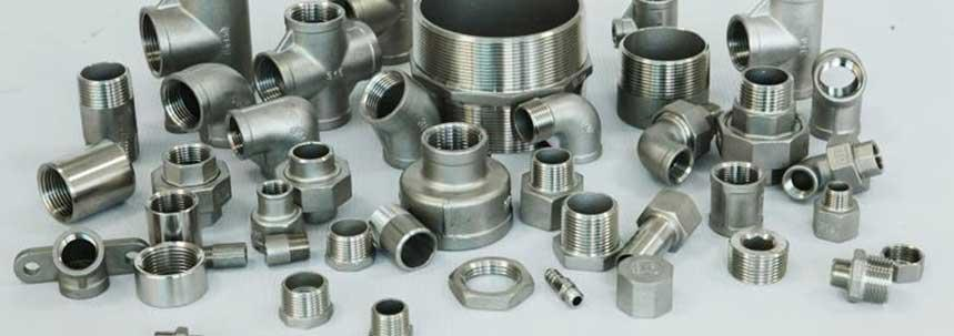 Stainless Steel 904L Threaded Forged Fittings Manufacturer