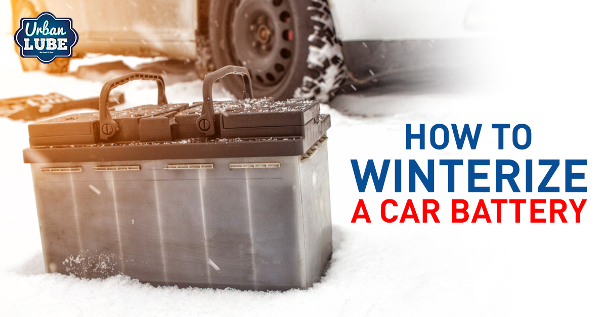 How To Winterize a Car Battery