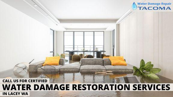 Call us for Certified Water Damage Restoration Services in